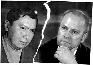 Рахат Алиев (слева) и Андрей Шухов — если друг оказался вдруг