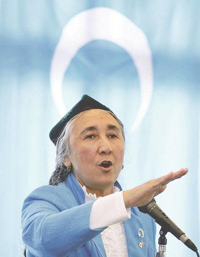 Рабия Кадыр, лидер уйгурских повстанцев. Reuters