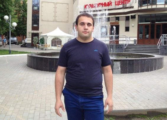 Марат Рахметов, 24 года